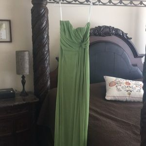 Soft Lime green formal dress